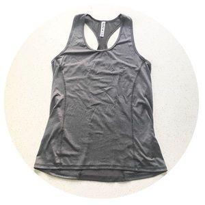 Kyodan grey mesh racerback athletic tank top